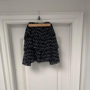 GAP tiered mini skirt - XL